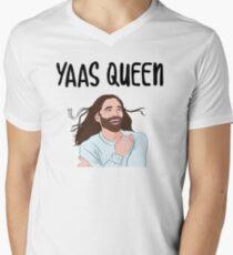 YAAS QUEEN Men's V-Neck T-Shirt