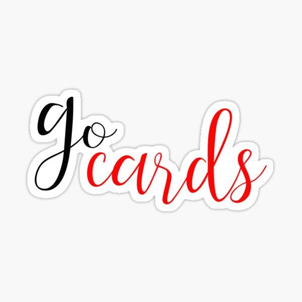 go cards Sticker