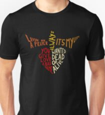 Bon Jovi - Songs Slim Fit T-Shirt