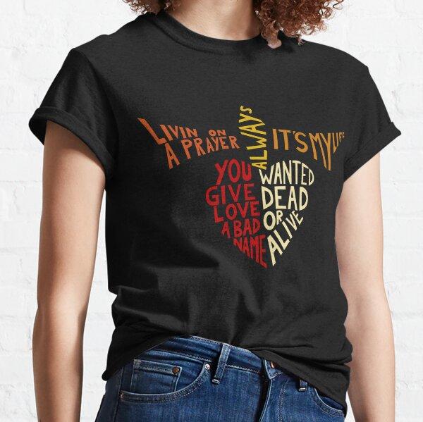 Bon Jovi - Canciones Camiseta clásica
