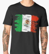 Mexico Flag Gift Country Patriotic Travel Shirt Americas Light Men's Premium T-Shirt