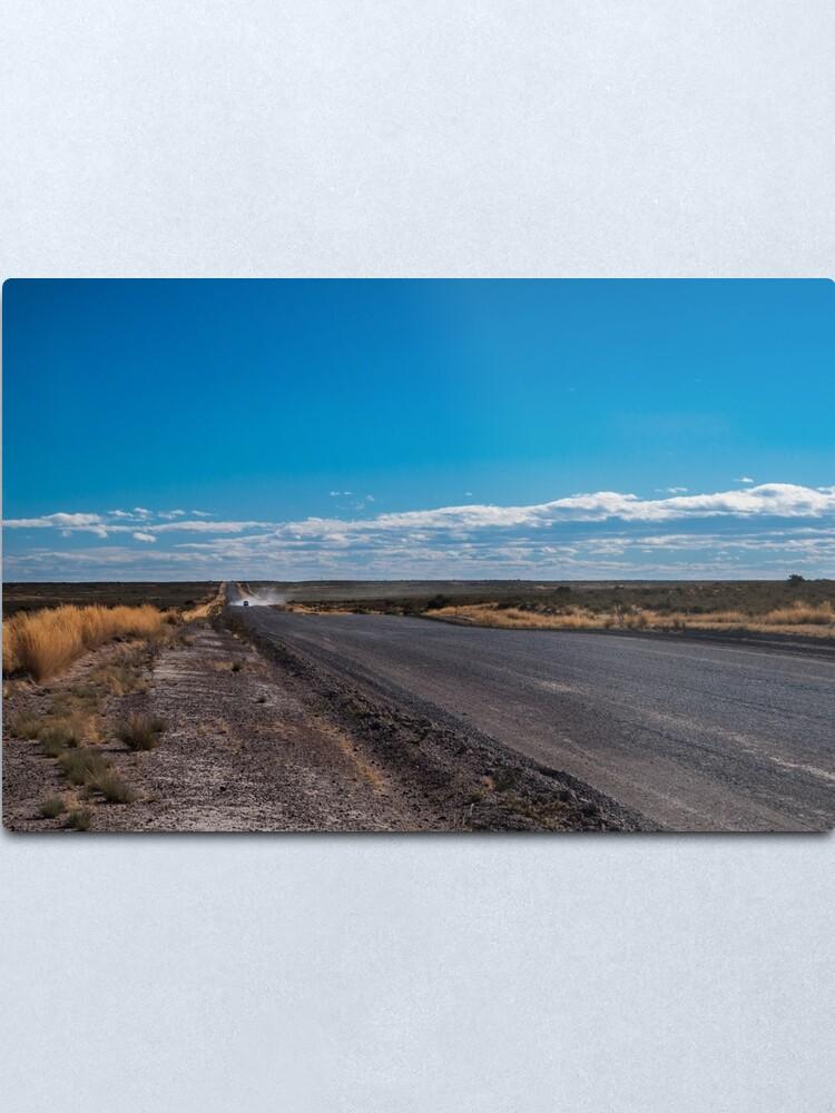 Alternate view of Patagonia Road II Metal Print
