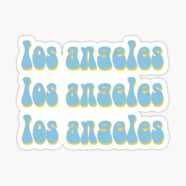 Los Angeles Sticker