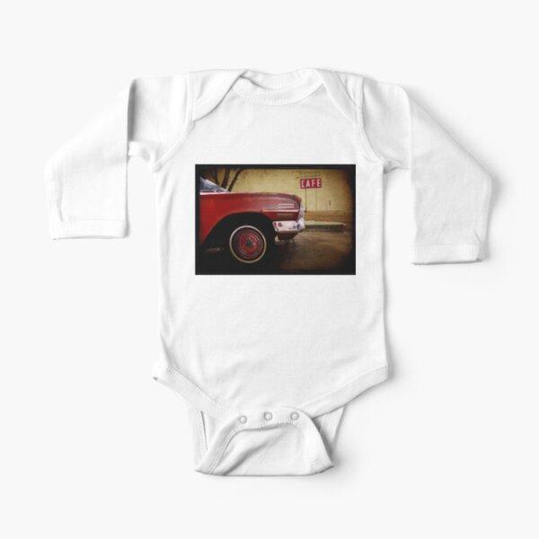 Adrian, Texas Long Sleeve Baby One-Piece