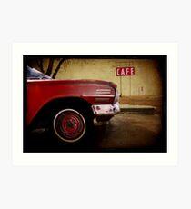 Adrian, Texas Art Print