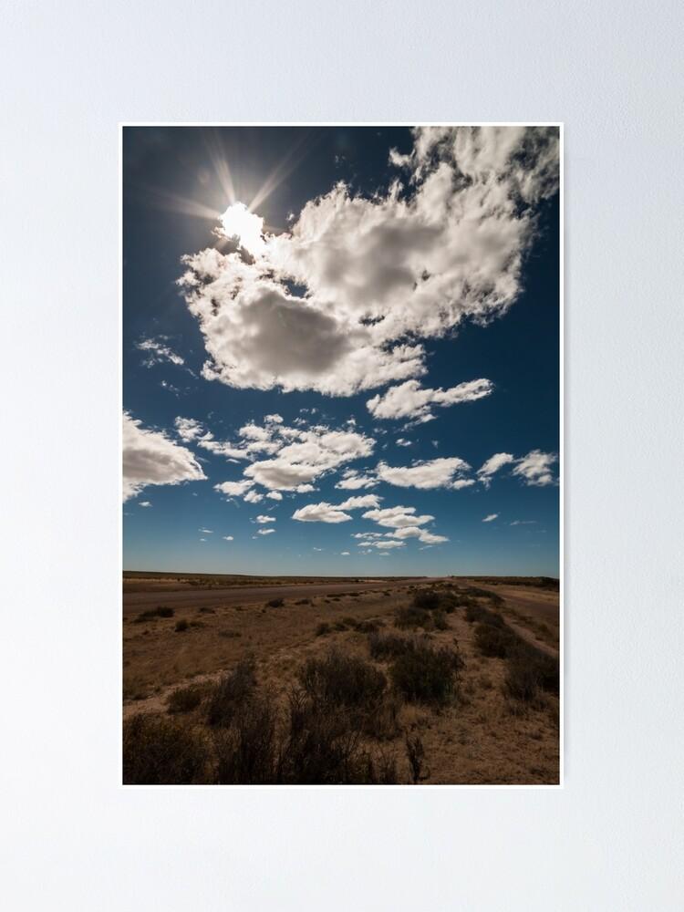 Alternate view of Patagonia Road III Poster
