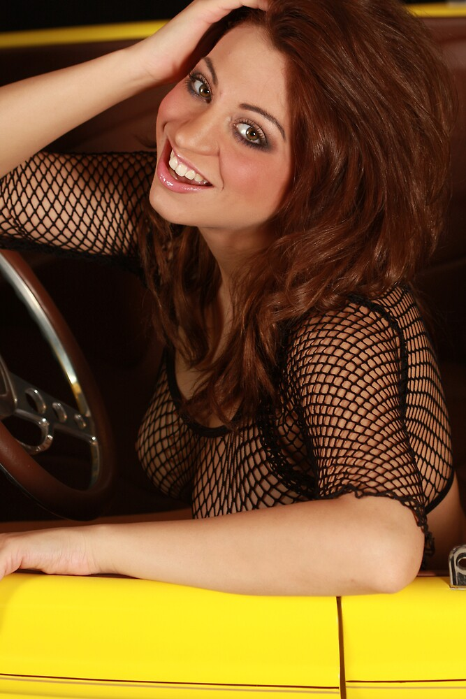 Jessica and the 1932 Yellow Ford Part 2 by Swede