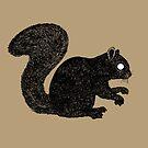 Grey Squirrel by djrbennett
