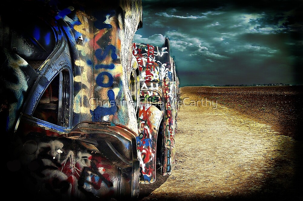 Doomsday on Cadillac Ranch by Christine Elise McCarthy
