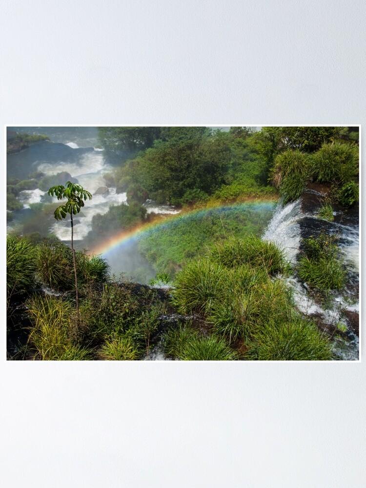 Alternate view of Iguazu Falls Poster