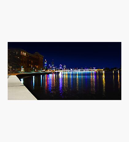 Old Swan Brewery Perth At Night  Photographic Print