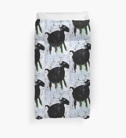 Black Horse 3  Duvet Cover