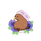 Kiwi Bird - Yeah Nah by hellredsky