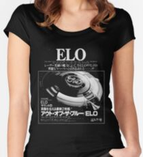 E.L.O. Japan Women's Fitted Scoop T-Shirt