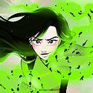 Green Power by JuditMallolArt