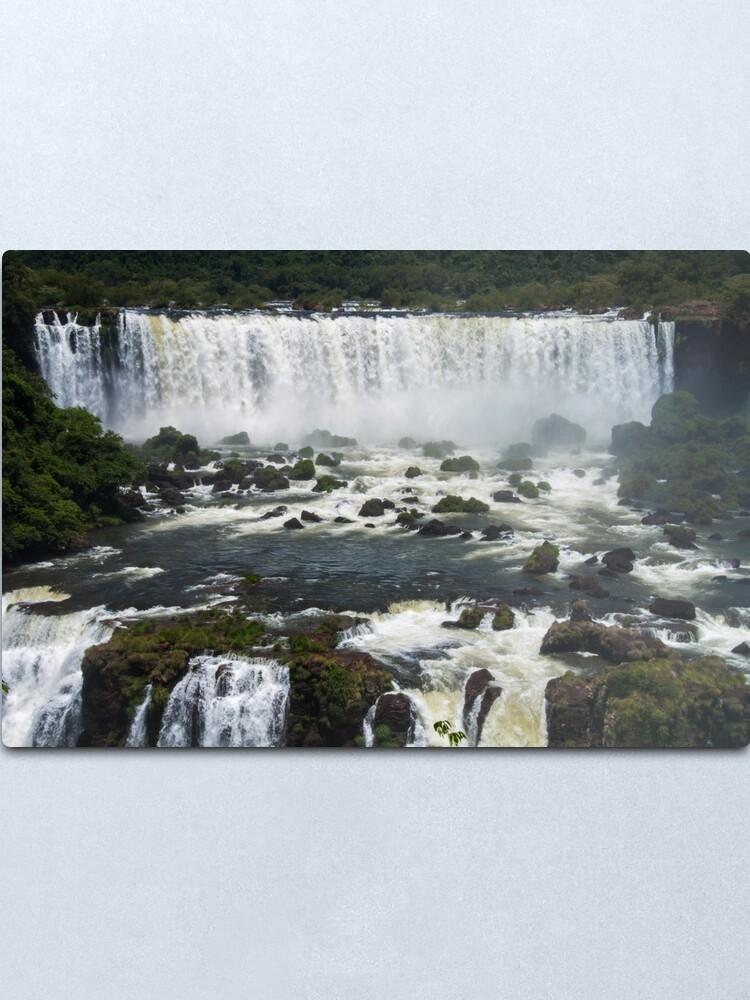 Alternate view of Iguazu Falls Metal Print