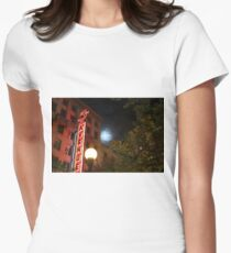 5th avenue Womens Fitted T-Shirt