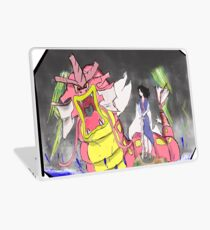 The dragon and the girl Laptop Skin