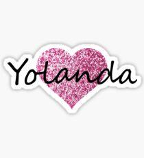 Yolanda Sticker