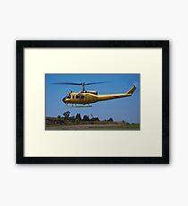 Bell 205 - Bell UH-1D-BF Iroquois Framed Print