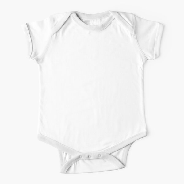 Eat Sleep Walk with Elias Repeat (white text) Short Sleeve Baby One-Piece