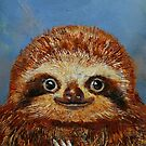 Baby Sloth by Michael Creese