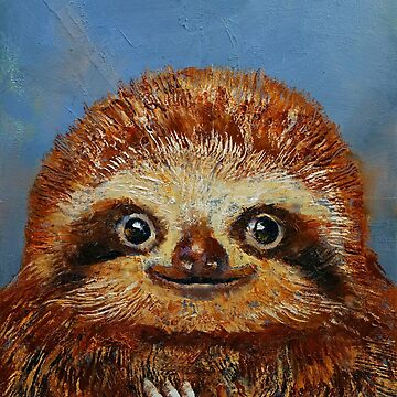 Baby Sloth by michaelcreese