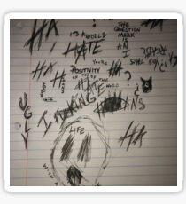 XXXTentacion Album Photo Sticker