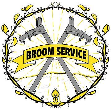 Broom Service Fancy - Small by mochipanda