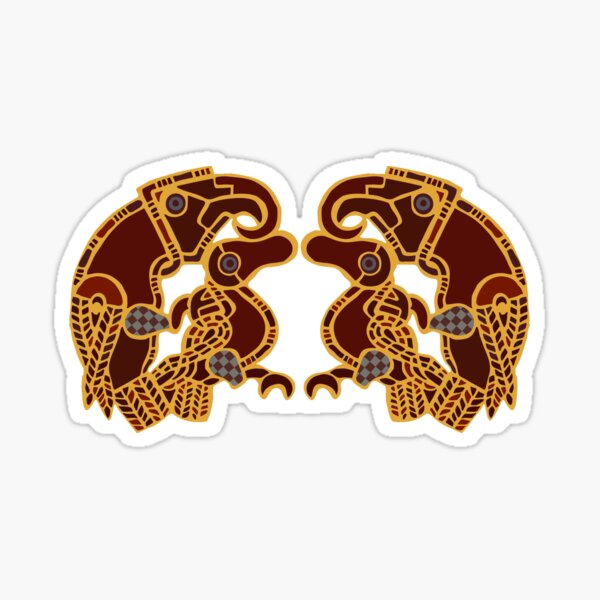 Imagining Sutton Hoo: The Eagles Sticker