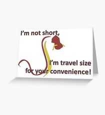 Travel Size Greeting Card