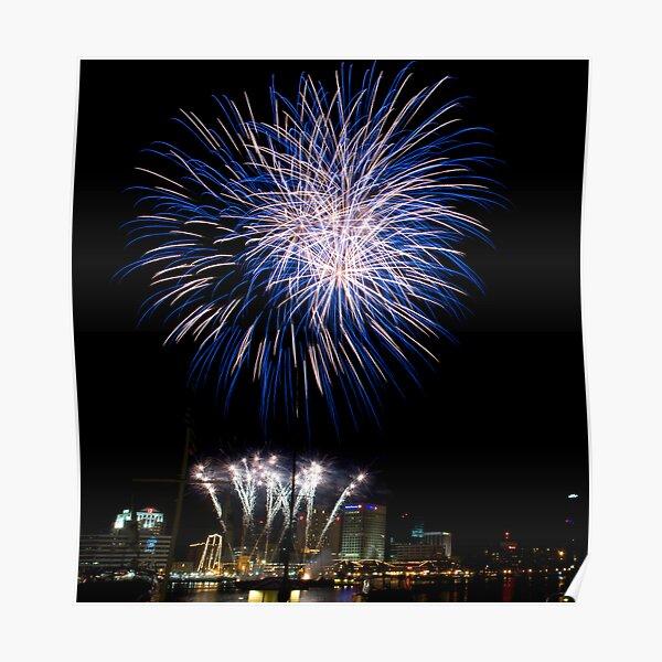 Norfolk Harborfest Fireworks Poster