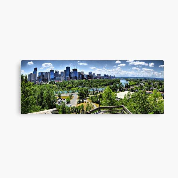 Downtown Calgary Skyline Canvas Print