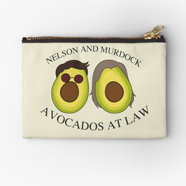 Avocados at Law Zipper Pouch