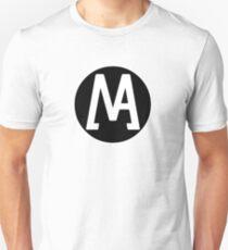Multiverse Animation Logo Print White Unisex T-Shirt