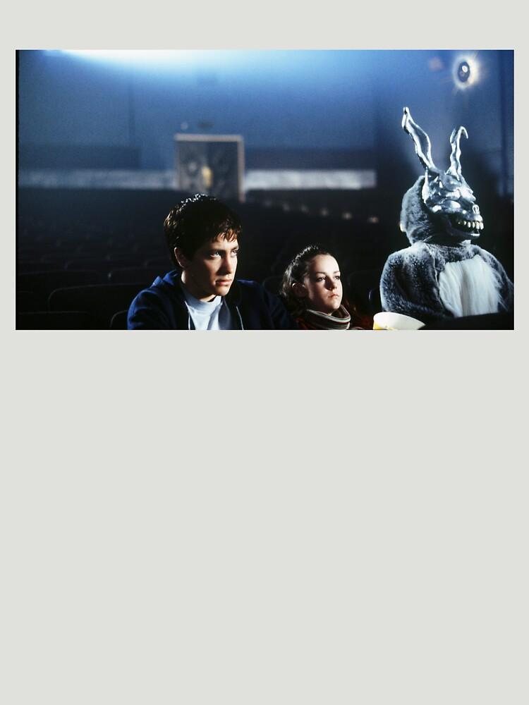 gretchen ross (jena malone) y frank the bunny (james duval). crédito a richard kelly de kozakhol
