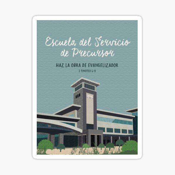 Escuela del Servicio de Precursor (Diseño n. ° 10) Pegatina