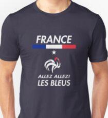 France World Soccer Shirt, Proud French Shirt, Les Bleus Unisex T-Shirt