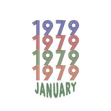 January 1979 by TAKASH