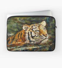 Swimming Tiger Laptop Sleeve