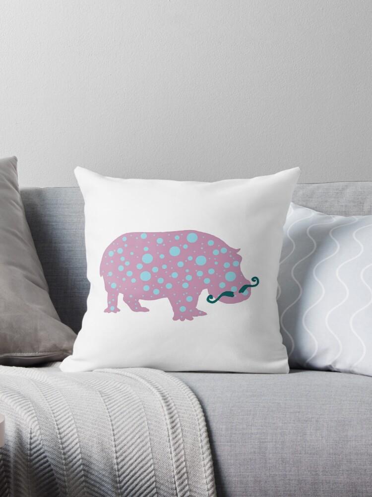 Hippopotamus Moustache  by Manitarka