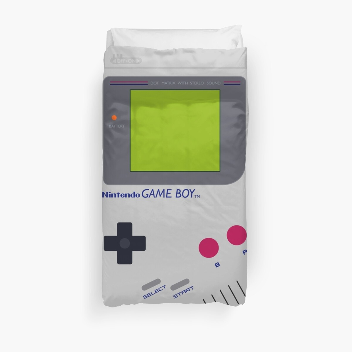 Quot Game Boy Quot Duvet Covers By Troybolton17 Redbubble