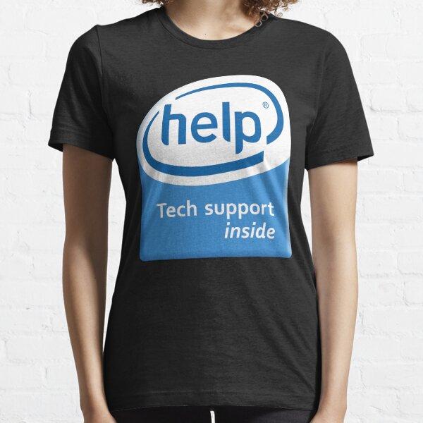 Funny Intel Parody Logo Computer Tech Support Essential T-Shirt