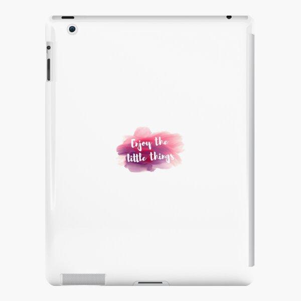 enjoy the little things iPad Snap Case