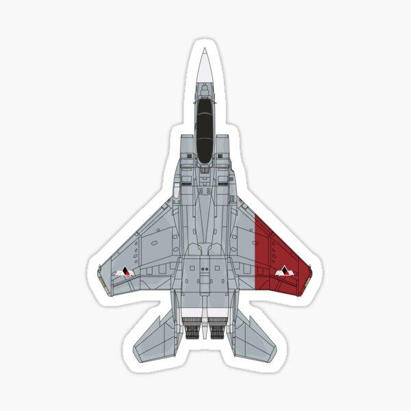 Ace Combat Galm Team Pixy F-15C Sticker