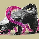 Fearless Honey Badger by Rainvelle Gemperoa