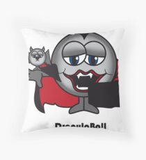 Dracula Ball Throw Pillow