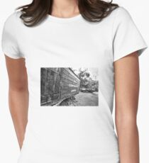 Commonwealth Oil Corporation. Women's Fitted T-Shirt