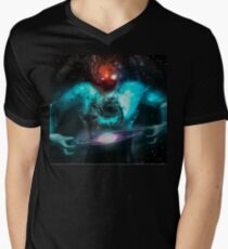 Possess the Galaxy in the Grasp of Your Hands Men's V-Neck T-Shirt