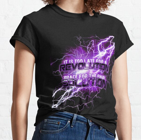muse thought contagion lightning T-shirt classique